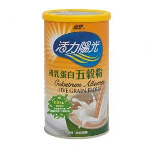 活力陽光 | 初乳蛋白五穀粉 (500g) (罐裝)