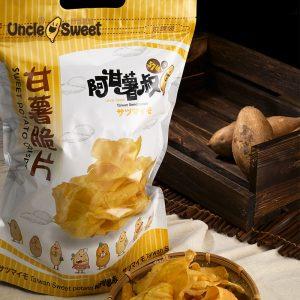 阿甘薯叔 | 甘薯脆片 (400g) (包裝)