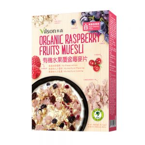 米森 | 有機水果覆盆莓麥片 (400g) (盒裝)
