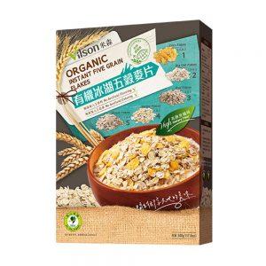米森 | 有機冰湖五穀麥片 (500g) (盒裝)