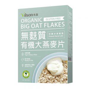 米森 | 有機無麩質大燕麥片 (450g) (盒裝)