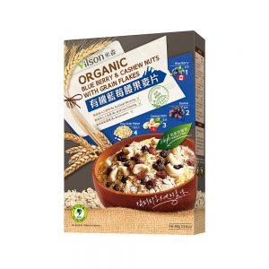 米森 | 有機藍莓腰果麥片 (450g) (盒裝)